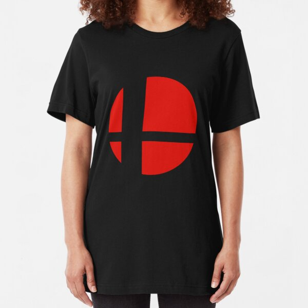 Smash Bros. Logo Slim Fit T-Shirt