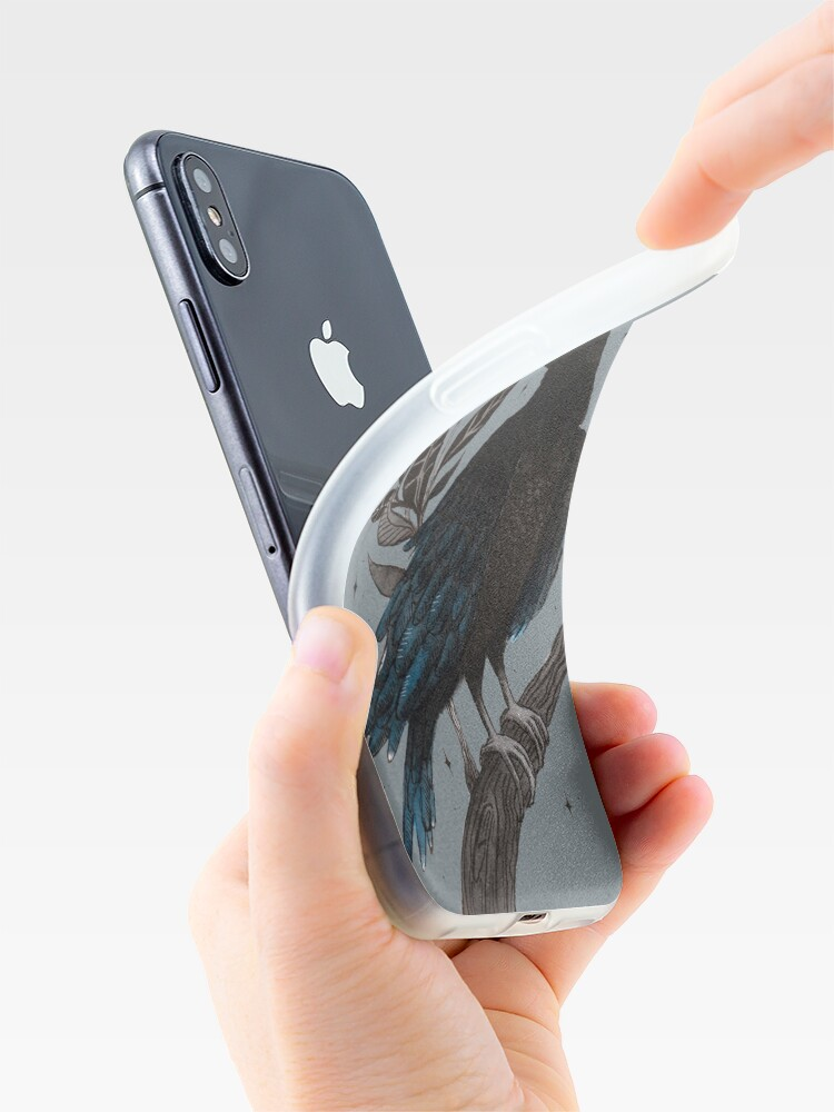 Alternate view of Raven iPhone Case & Cover