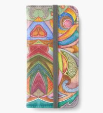 Seamless Watercolor Pattern by Lierre Kandel iPhone Wallet/Case/Skin