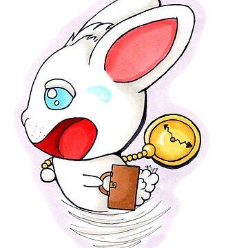 Kawaii Kritter Rabbit by nagamiarts
