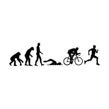 Evolution triathlon by Designzz