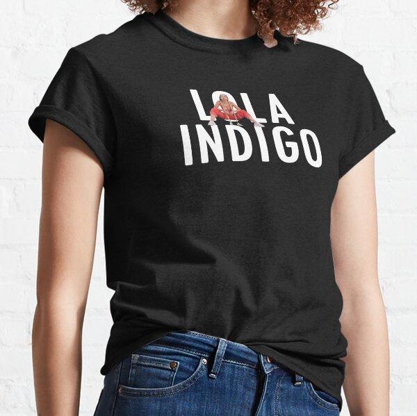 LOLA INDIGO Camiseta clásica