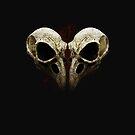 Bird Skull 2 by grafoxdesigns