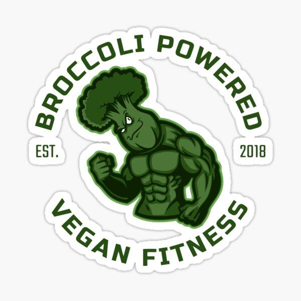 Broccoli Powered Sticker