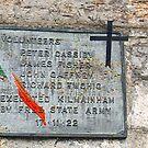 The last Anti treaty forces executed at Kilmainham Gaol, Dublin during the Irish Civil War by David Carton