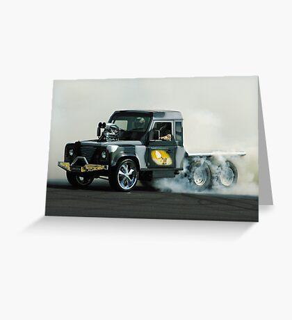 Smokin' Armygeddon Greeting Card