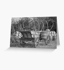 1855 Greeting Card