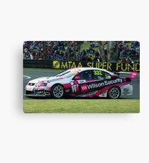 333- Wilson Security V8 supercar Canvas Print