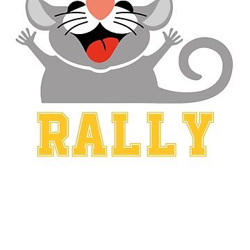 Rally Possum Shirt - Cleveland Rally Possum Shirt by Yarkos