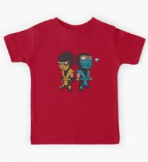 Skorpion & Sub-Zero Kinder T-Shirt