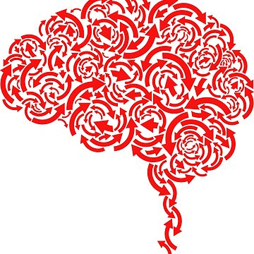 brain storm illustration beautiful brain by kartickdutta101