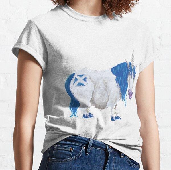 Scottish Saltire Unicorn Classic T-Shirt