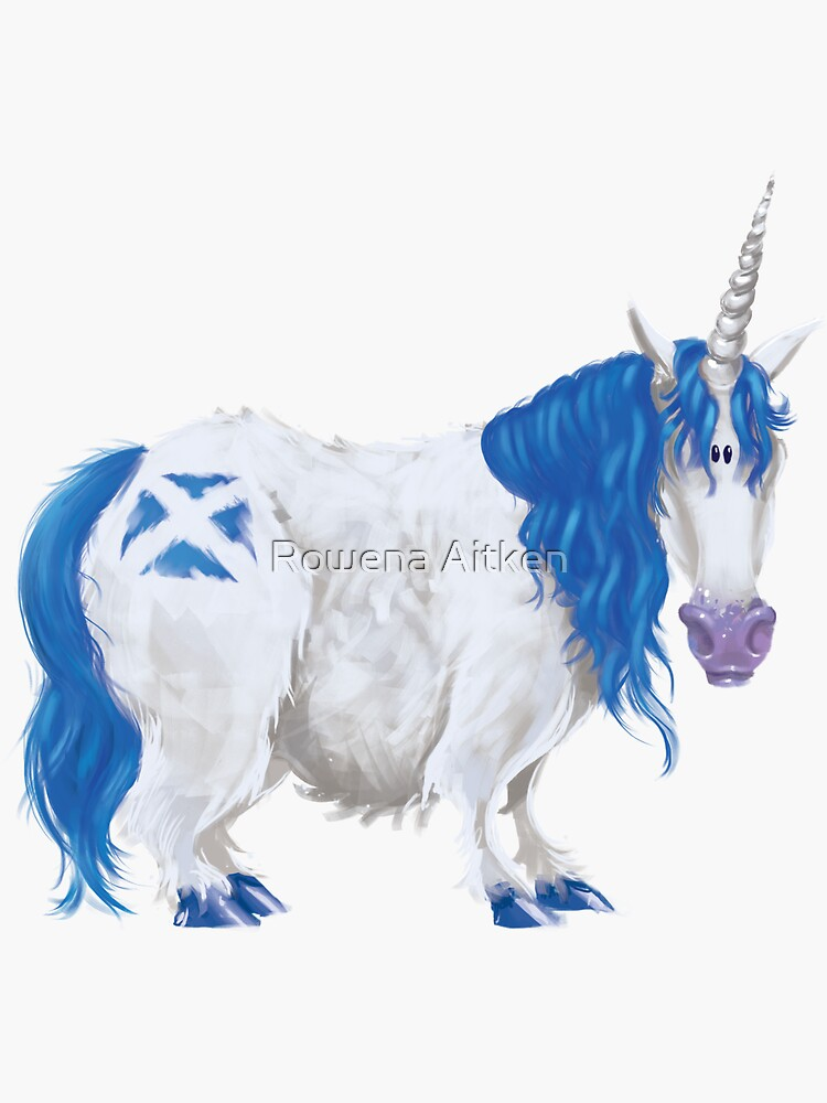 Scottish Saltire Unicorn by roaitken