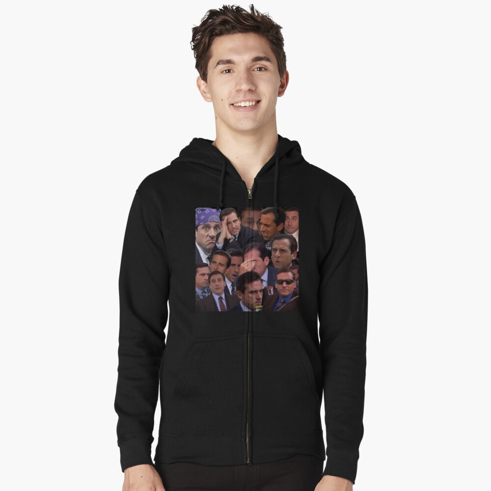 The Office Set Zipped Hoodie