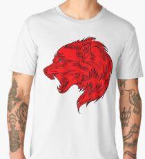 The red wolf Men's Premium T-Shirt