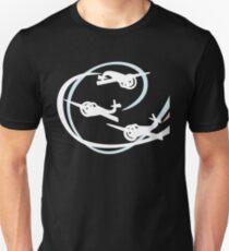 Aerobatic planes | White Vapor trails T-Shirt