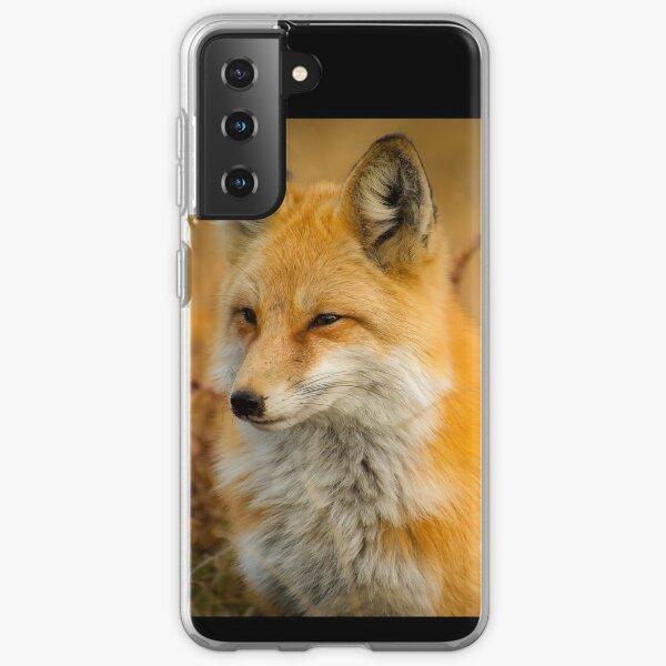 Fox Animal Wildlife Red Foxes Closeup Nature Samsung Galaxy Soft Case