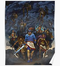 RuneQuest: Roleplaying in Glorantha, Heroes of Orlanth by Andrey Fetisov Poster