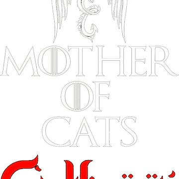Mother Of Cats Catleesi Funny T Shirt by funnyshirt97