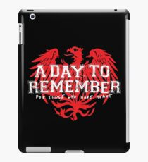 A Day To Remember - For Those Who Have Heart II iPad Case/Skin