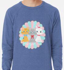 The Aristocats: Toulouse, Berlioz, Marie Lightweight Sweatshirt
