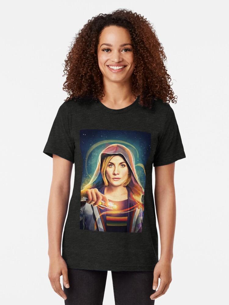 Alternative Ansicht von Das Universum ruft ... Vintage T-Shirt