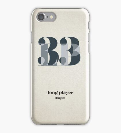 Long Player iPhone Case/Skin