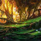 «Bosque encantado» de Johannes Kert Roots