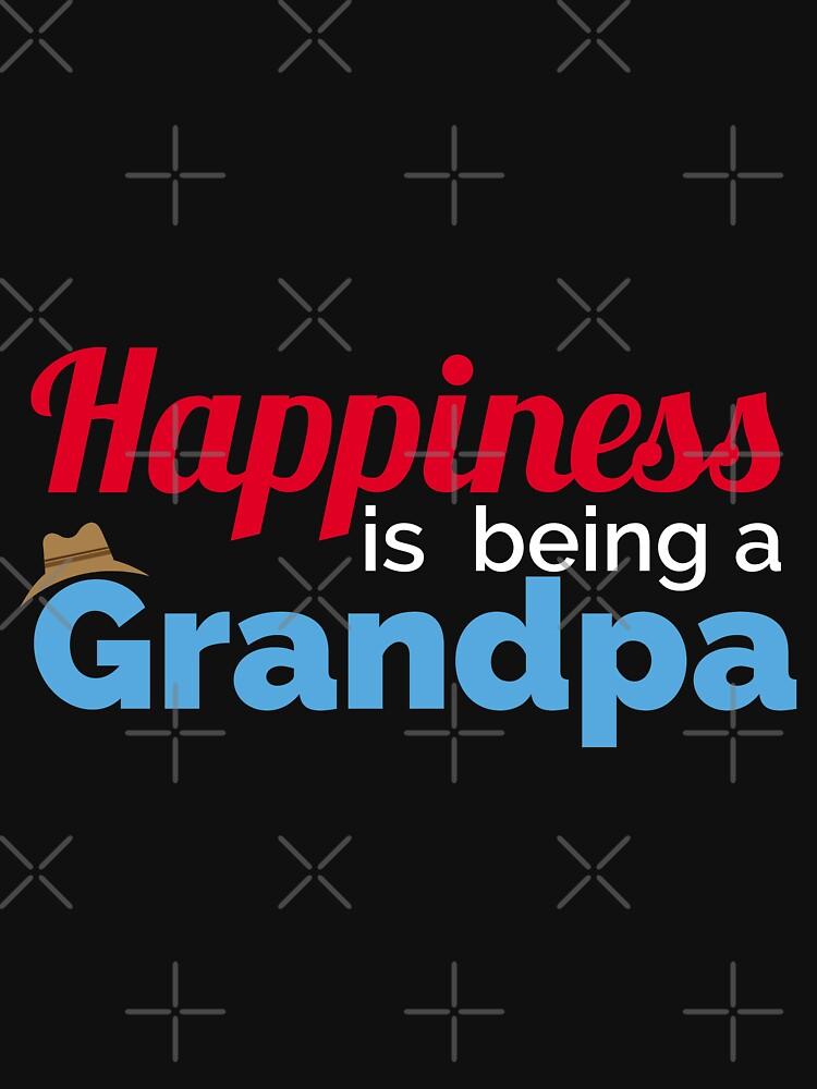 Glück ist ein Opa - Geschenkidee von vicoli-shirts