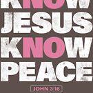 No Jesus No Peace - Know Jesus Know Peace by Kelsorian
