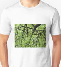Green Tree Branches Unisex T-Shirt