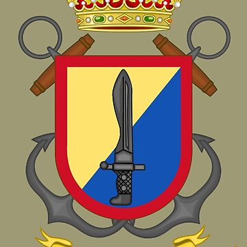 Fuerza de Guerra Naval Especial - Special Naval Warfare Force (Spanish Navy) by wordwidesymbols