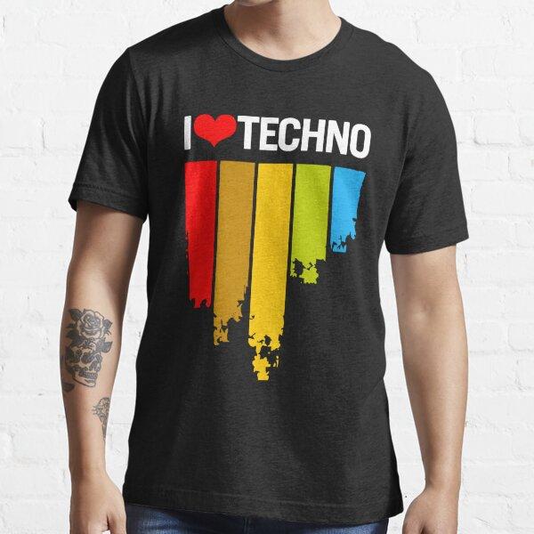Amo Techno Camiseta esencial