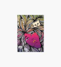 The Crazy Cat Lady | Line Art | Gay LGBTQ Love Wins Art Board