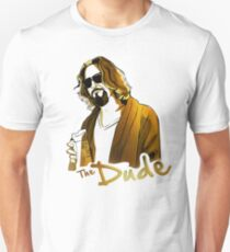 the dude, exclusive gold edition Unisex T-Shirt