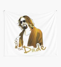 the dude, exclusive gold edition Wall Tapestry