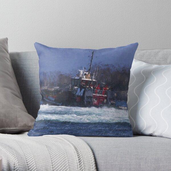2018 MORAN TUG Throw Pillow