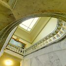Staircase - Maryland State House by ctheworld