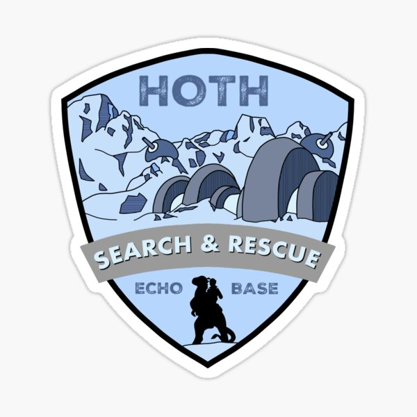 Search and rescue Sticker