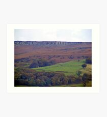 stanage edge Art Print