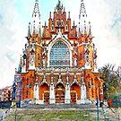 St. Josephs Church Krakow #krakow by JBJart