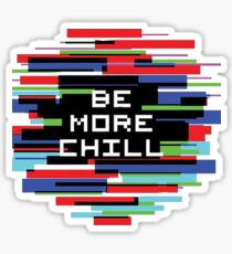 Be More Chill Logo Sticker