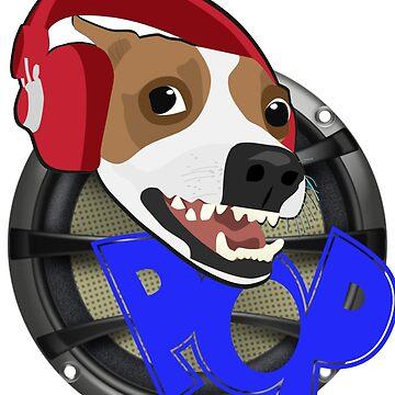 Dog pop Music lover by ShyneR
