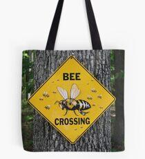 Bee Crossing Tote Bag
