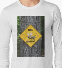 Bee Crossing Long Sleeve T-Shirt