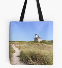 New England Lighthouse, Block Island Tote Bag