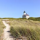 New England Lighthouse, Block Island by Southern  Departure