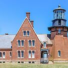 New England Lighthouse, Rhode Island, Block Island,  by Southern  Departure