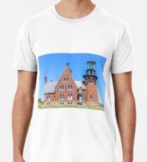 New England Lighthouse, Rhode Island, Block Island,  Premium T-Shirt