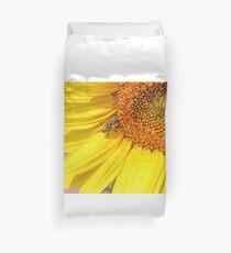 Bee and Sunflower Duvet Cover